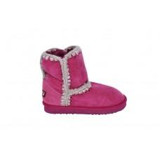 MOU编织绳羊猄雪地靴